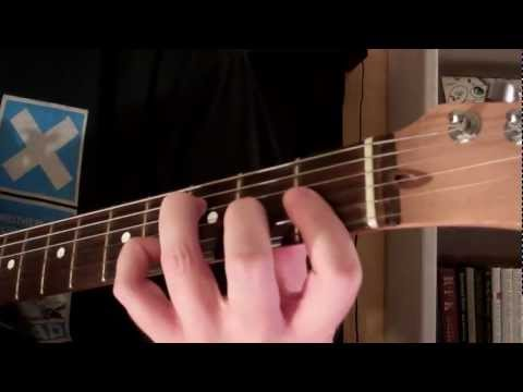 How To Play the Fm7 Chord On Guitar (F Minor 7)