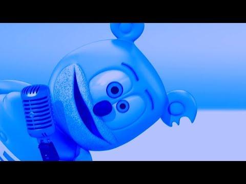 BLUE & TRIPLE LANGUAGE Gummibär REQUEST VIDOE Polish & Patois & Portuguese Gummy Bear Song