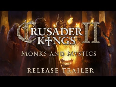 Crusader Kings II: Monks and Mystics - Release Trailer thumbnail