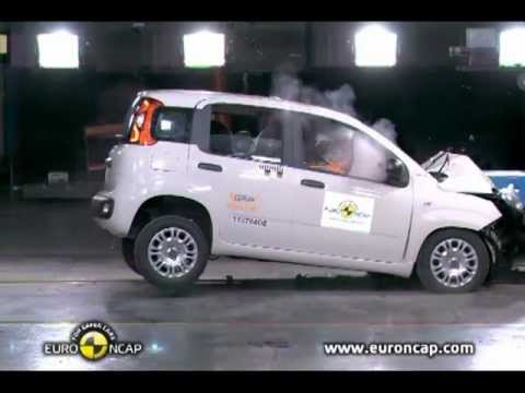 2012 Fiat Panda Accident test
