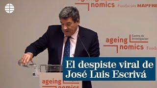El despiste viral del ministro José Luis Escrivá