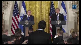 President Donald Trump and Prime Minister Netanyahu Press Conference 2/15/17
