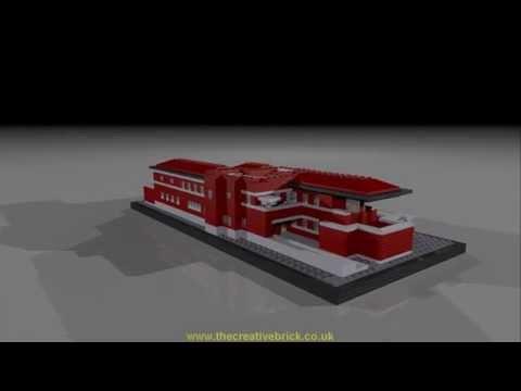 Vidéo LEGO Architecture 21010 : La maison Robie