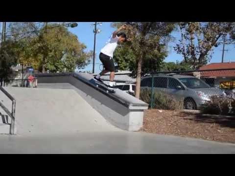 David Gonzalez sesion Skatepark Long Beach