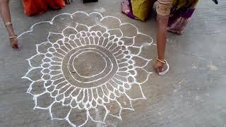 Part 1 - Rangoli - Hindu Art