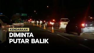 Tak Bawa SIKM, Ratusan Kendaraan Diminta Putar Balik di Tol Japek Karawang