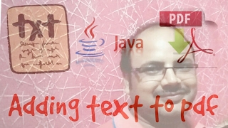 PDF box tutorial #1 | create and add text to PDF using java