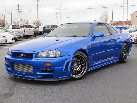1999 Nissan Skyline GT-R (R34) Start Up, Test Drive, and In Depth Review