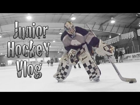 Junior Hockey Vlog Ep 14: Prepping For A Road Trip w/ Buttendz | Mic'd GoPro Hockey