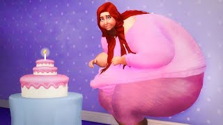 Sims 4 STORY   MY 600 POUND LIFE