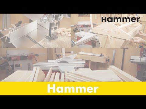 Hammer Holzbearbeitung – Bandsäge TV-Spot Natur
