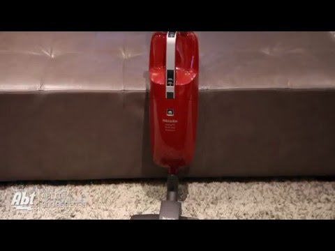 Miele Swing H1 QuickStep Mango Red Universal Upright Vacuum 41AAO033USA - Overview