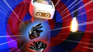 Trying Haptic Gloves like Ready Player One! (Your Brain on VR)