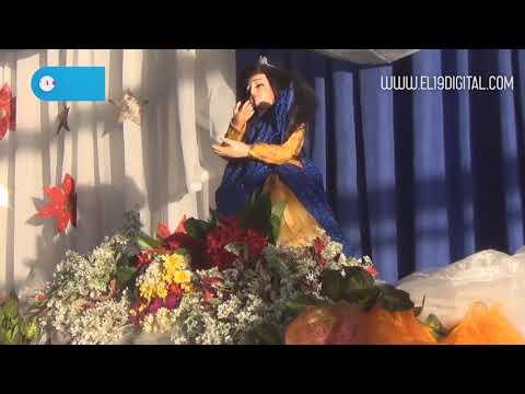 Masayas oran y le cantan a María en inicios de novenarios