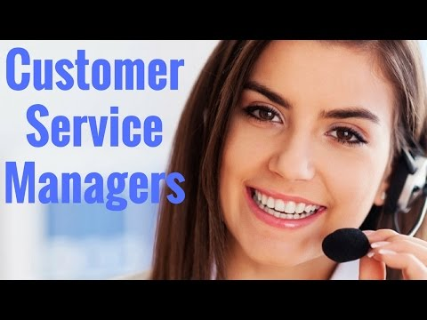 Customer Service Managers - YouTube