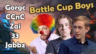 GORGC NA BATTLE CUP ALL STR THEN ALL AGI THEN ALL INT (Gorgc Dota Highlights)