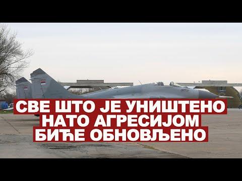 """Ministar odbrane Aleksandar Vulin obišao je na batajničkom aerodromu """"Pukovnik-pilot Milenko Pavlović"""" pripadnike Ratnog vazduhoplovstva i protivvazduhoplovne odbrane angažovane u dežurnoj jedinici lovačke avijacije u okviru stalno…"""