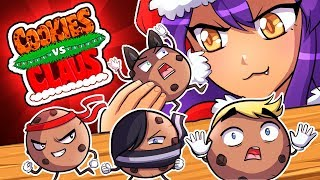 I WILL EAT YOU! - Cookies VS Claus
