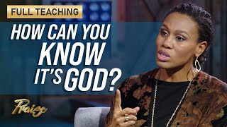 Priscilla Shirer: How to Discern the Voice of God (Full Teaching)   Praise on TBN