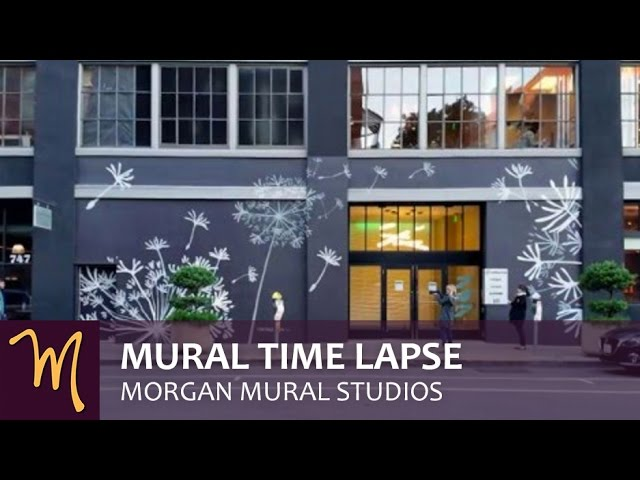 Minted Headquarters Mural Time Lapse