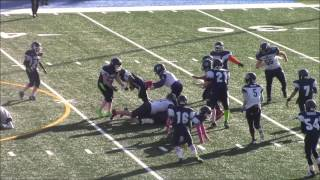 Burien Bearcats Roosevelt Montgomery (JR) age 14 Rb in his final year of youth football