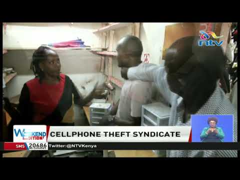 110 'stolen' smartphones recovered in a shop in Thika