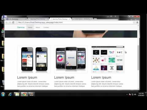 Build a Photo Sharing Website with Bootstrap Part - 5