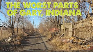 I drove through the WORST parts of Gary, Indiana. This is what I saw.
