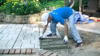 Easy Patio project - Video Youtube