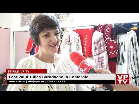 Festivalul Iulică Baradache la Comarnic