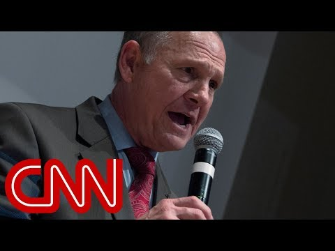 Roy Moore tries to block election result