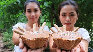 Yummy cooking Ice cram recipe - Natural life TV