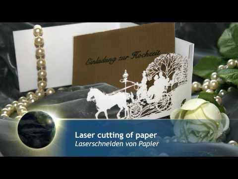 Special paper cards | Laser cutting