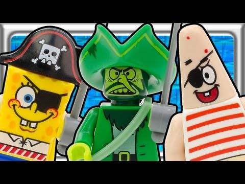 Vidéo LEGO Bob l'éponge 3817 : Le Hollandais Volant