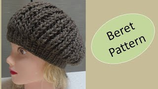 Beret Pattern. Knitting. Step by Step (easy). Suitable for beginners. [Tutorial]
