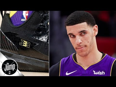 Lonzo Ball says he had to change his BBB shoes every quarter because they would rip | The Jump