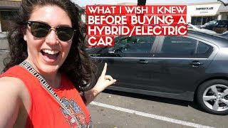 I BOUGHT A HYBRID! | Tips & What To Know About Electric & Hybrid Car Shopping
