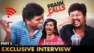 """Next Heroine Chance"" சிரிக்க வைக்கும் Prank Call with Jacquline   KPY Winners Azhar & TSK Interview"