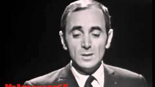 Charles Aznavour chante Il faut savoir 1965 .flv