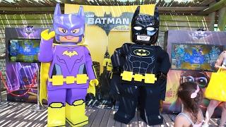 Lego Batman: la Pelicula Activación en Temaiken