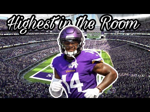 Stefon Diggs Highlights | HIGHEST IN THE ROOM - Travis Scott