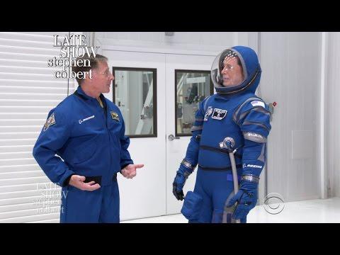 Stephen Visits NASA To Begin His Astronaut Training