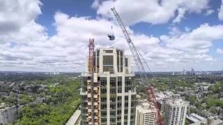 Timelapse of The Heathview's North Tower Crane Removal