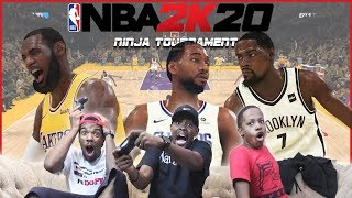 Epic Games In The First Ever NBA 2K20 Ninja Member Tournament! Must Watch!