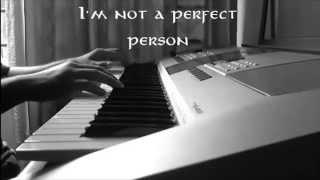"""The Reason"" (Hoobastank)  Rock Piano Instrumental [HQ]"