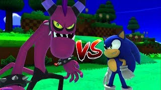Sonic Lost World - Windy Hill - VS. ZAZZ BOSS - All Zone Levels Walkthrough | Gameplay Episode #1