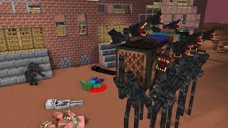 Monster School : SIREN HEAD COFFIN DANCE COMPILATION - Minecraft Animation