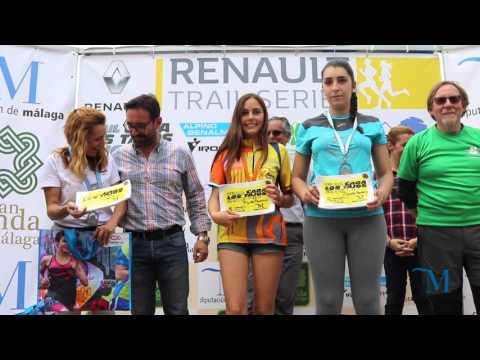 Trail Cara Los Tajos 2016. 2ª Prueba puntuable de la I Copa Provincial de Trail Diputación de Málaga
