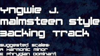 Yngwie Malmsteen Backing Track Am Neo Classic | Am A minor