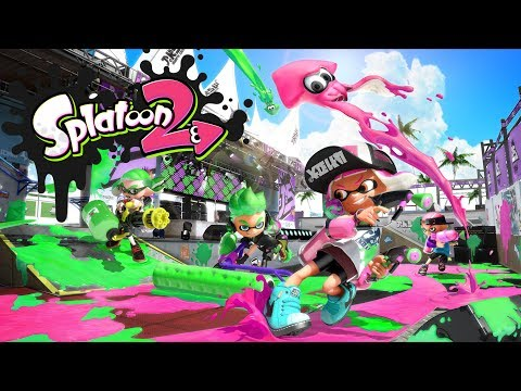 Илья Казаков опять плюхает в Splatoon 2!